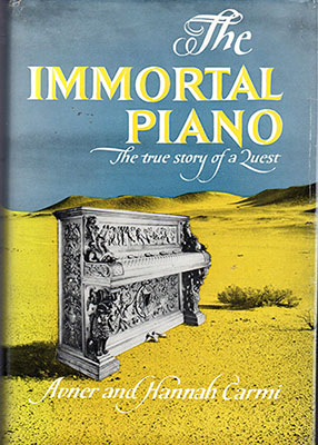 "Copertina de ""The immortal piano"", 1960."