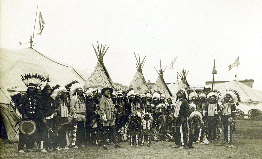 """Buffalo Bill's Wild West Show"", 1890, Roma."